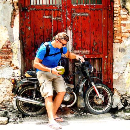 Odvaha robiť veci inak. 1000-ce km na bicykli a 27,4-tisíc sledujúcich na Instagrame