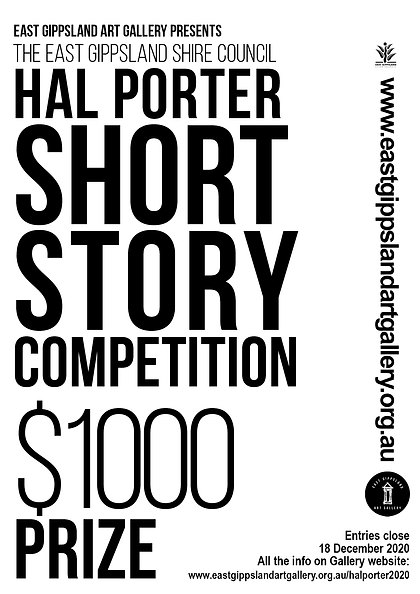 Hal Porter Short story competition 2020