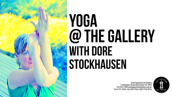 Yoga at the Gallery with Dore Stockhausen