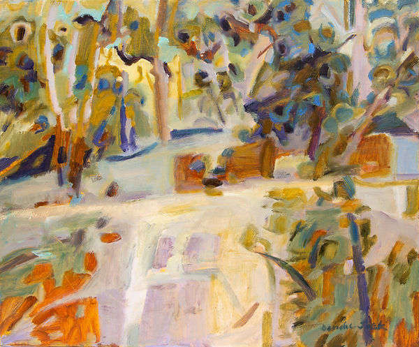 Image: Deirdre Jack Banksia Patterns II, Cape Conran Oil on canvas
