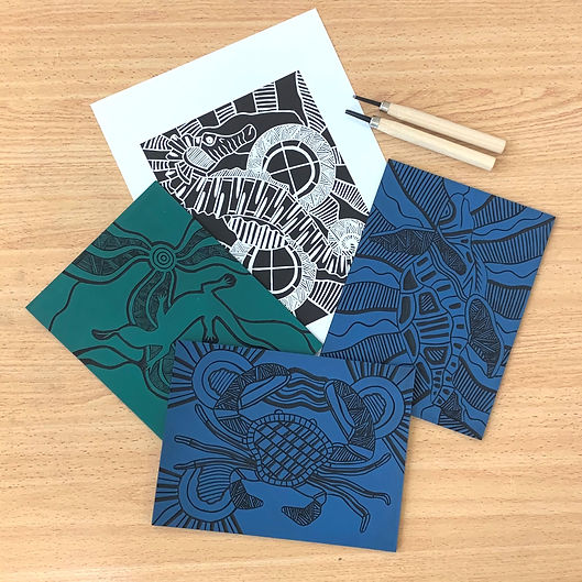 Linoprint Workshop