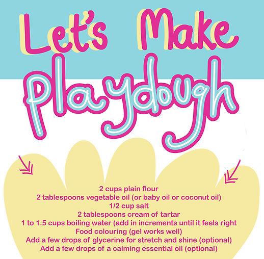 #creative@home Playdough recipe