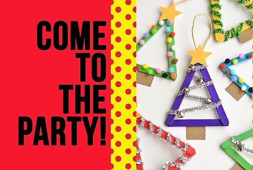 Creative Kids Xmas Party + Art Workshop