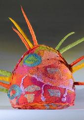 East Gippsland Art Gallery Andrea McKey | Embroidered Felt  Workshop