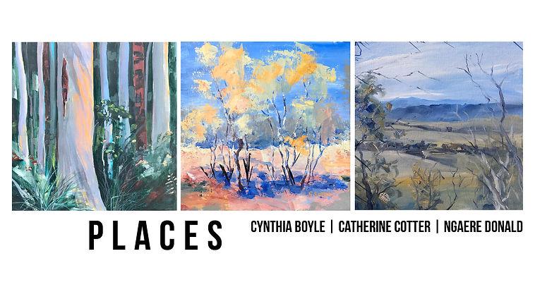 Places Cynthia Boyle, Catherine Cotter, Ngaere Donald