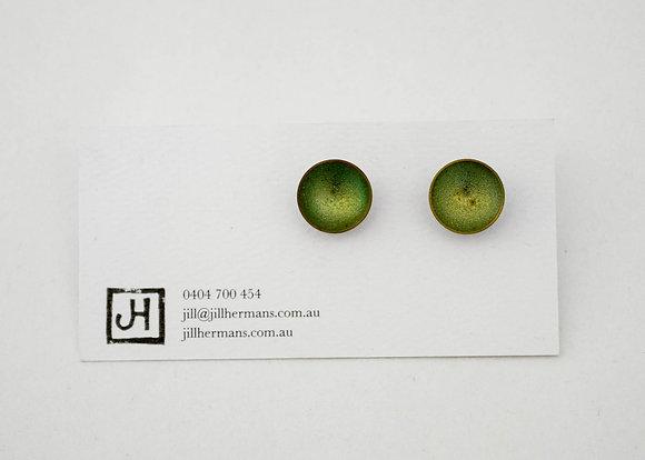 Jill Hermans   Green Studs