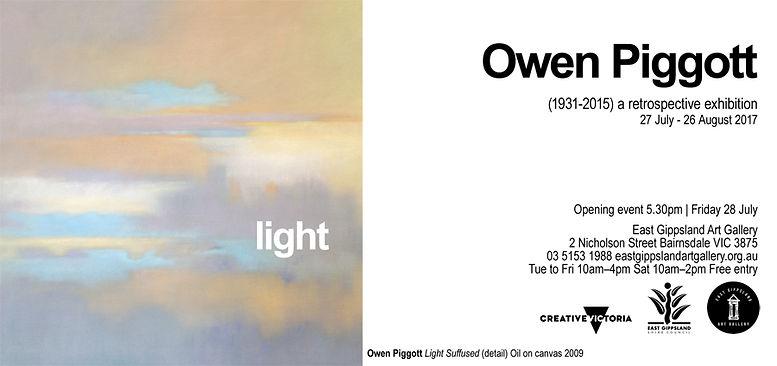 Owen Piggott Colour and Light East Gippsland Art Gallery