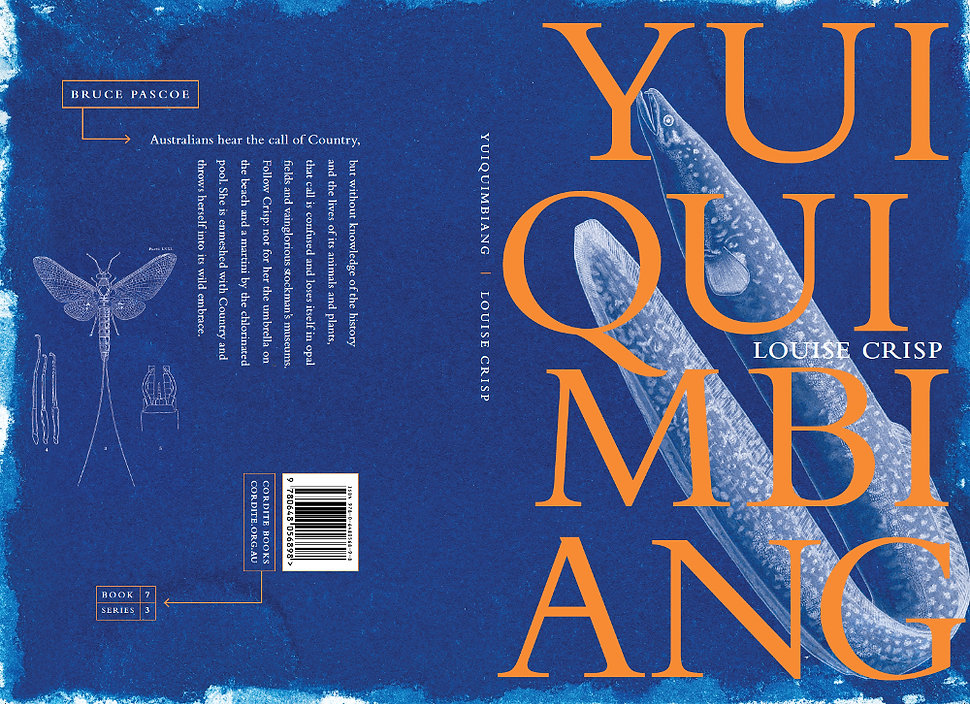 Louise Crisp's latest poetry collection, Yuiquimbiang