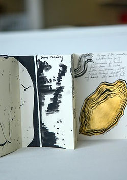Creative Kids| Ink, Monoprinting and Gold leaf