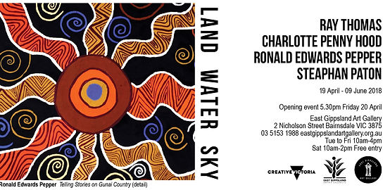 Land Water Sky  Ray Thomas, Charlotte (Penny) Hood, Ronald Edwards, Steaphan Paton
