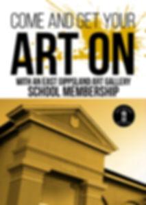 East Gippslad Art Gallery School Membership