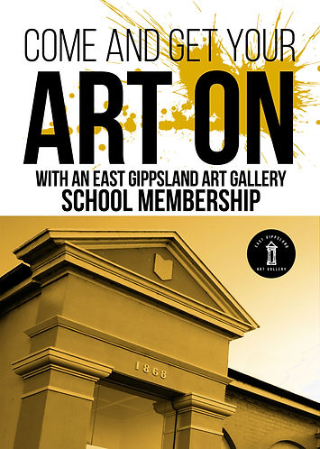 East Gippslad Art Gallery School Membership