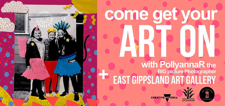 Drawn Together with PollyannaR and East Gippsland Art Gallery