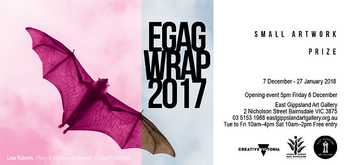 EGAG WRAP 2017 SMALL WORKS ART PRIZE