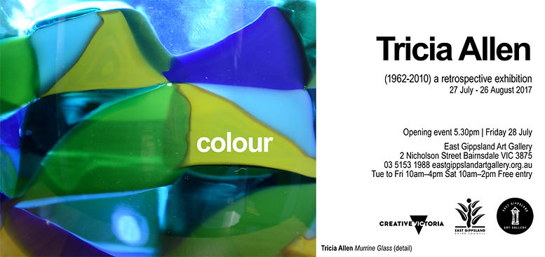 Tricia Allen Colour and Light East Gippsland Art Gallery