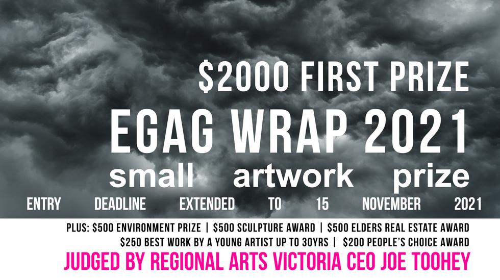 EGAG WRAP small artwork prize