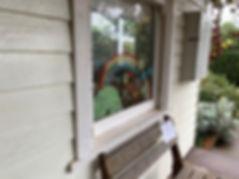 Rainbow Window Paint | East Gippsland Art Gallery