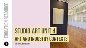 VCE Studio Art Resources