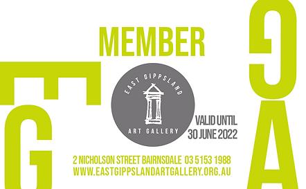 East Gippsland Art Gallery membership