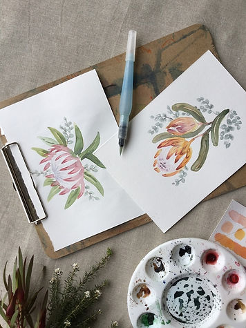 Watercolour for beginners with Amy Joseph