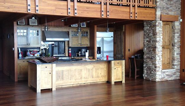 Wood floor that we restored