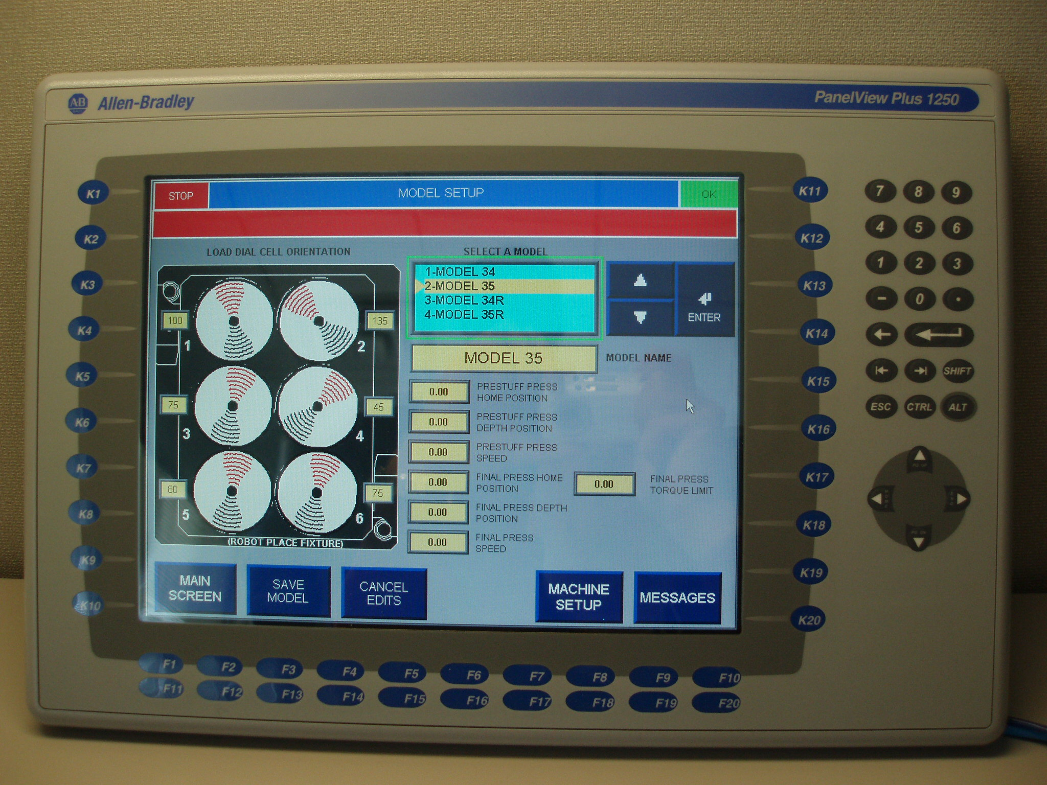 HMI Screen 1