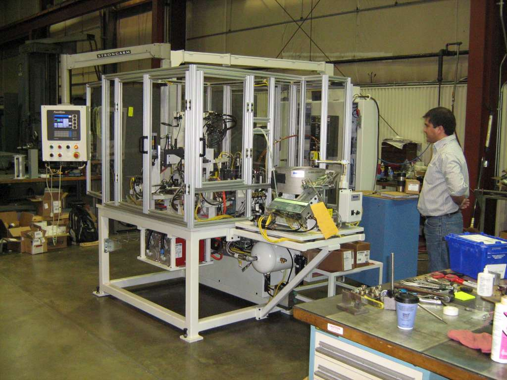 Platinum spark plug welding machine 1