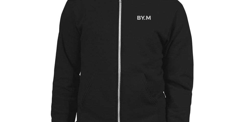 Black sweat jacket BY.M