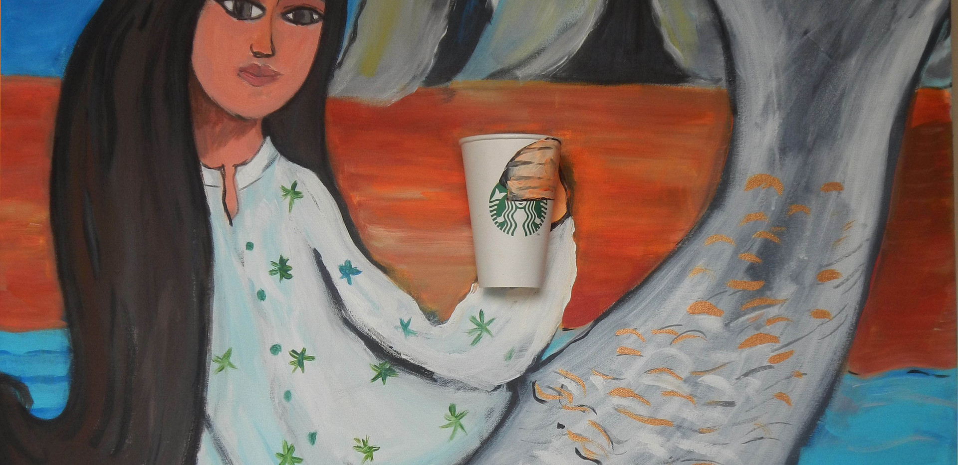 Only Mermaids Drink Cappuccino in Refuge