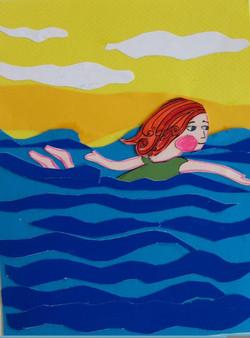 Mimi, I swim