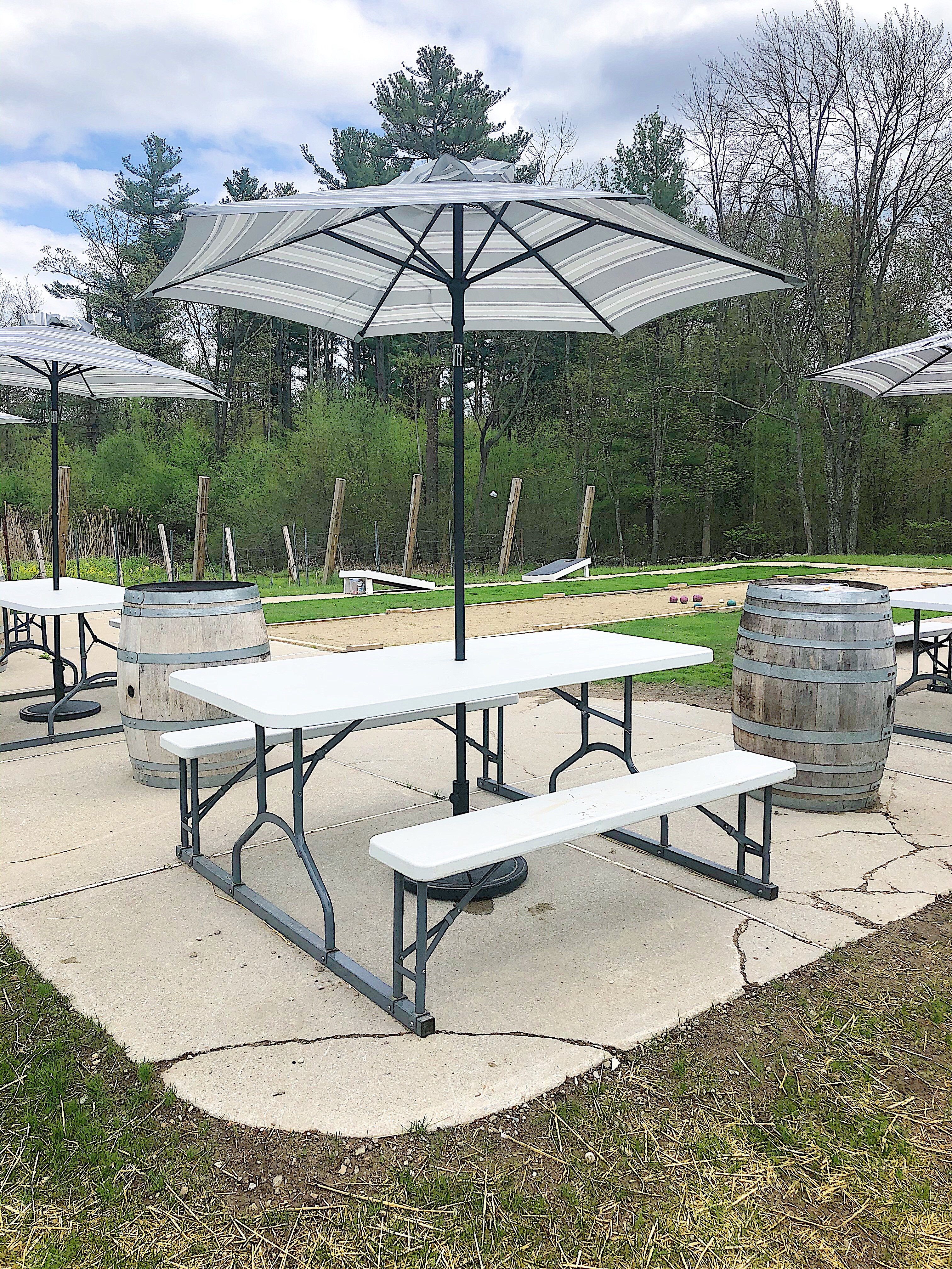 Outdoor Table for up to 6 People