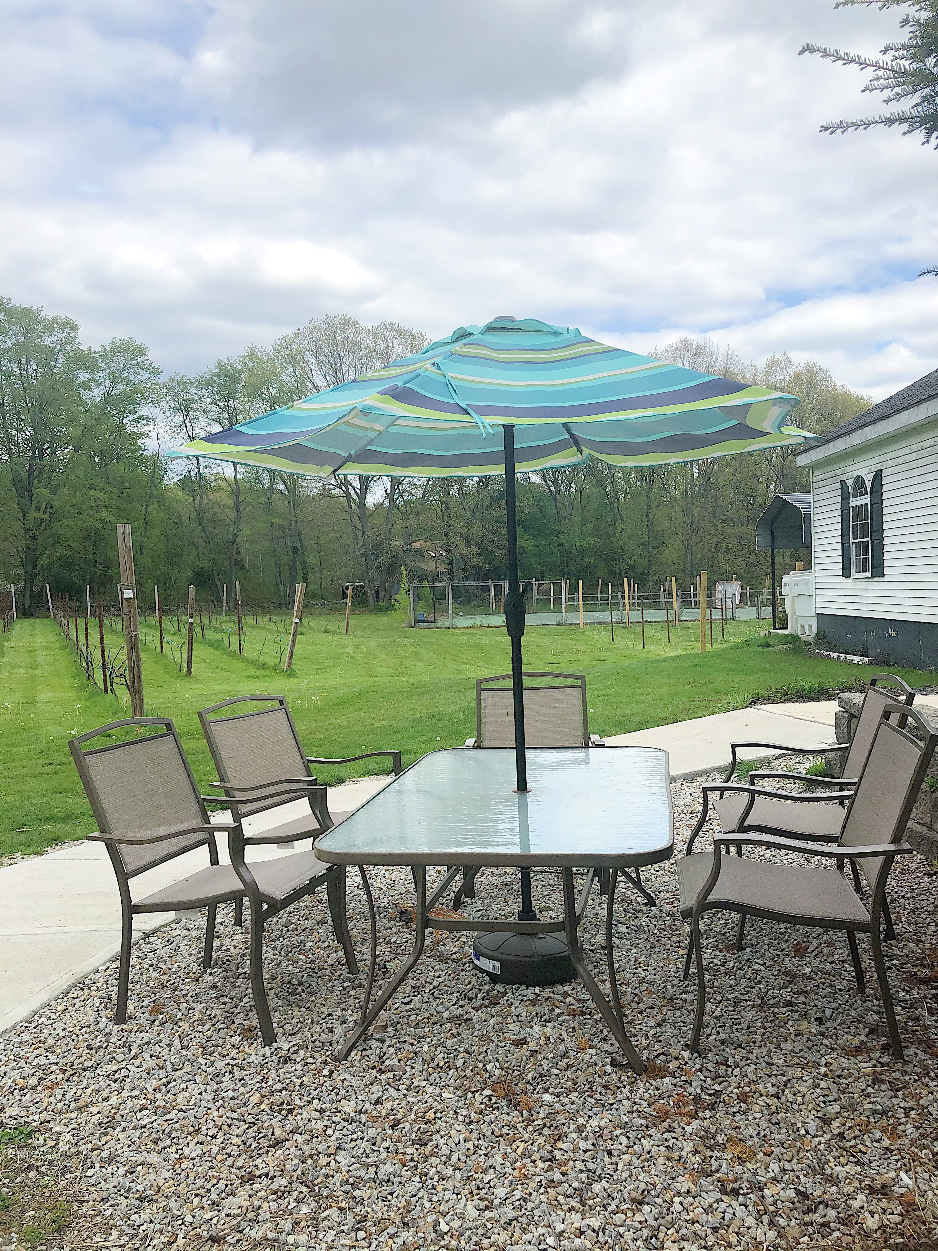 Outdoor Table for up to 5 People