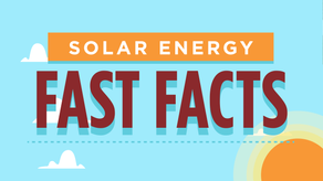 Solar Energy Fast Facts