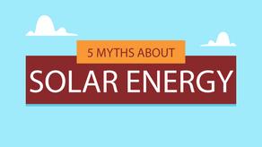 5 Myths About Solar Energy