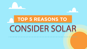 What are the Top 5 Reasons to Consider Solar Power?
