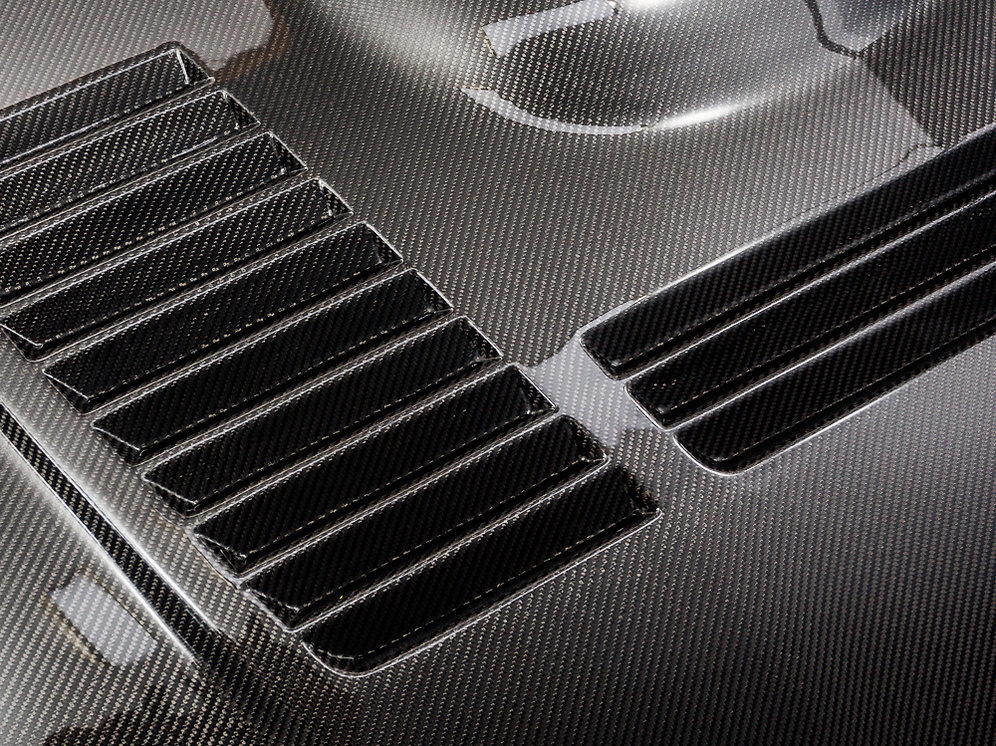 BMW M2 Carbon Fibre Dual Sided Vented Bonnet F22 / F87   carzonecustomz