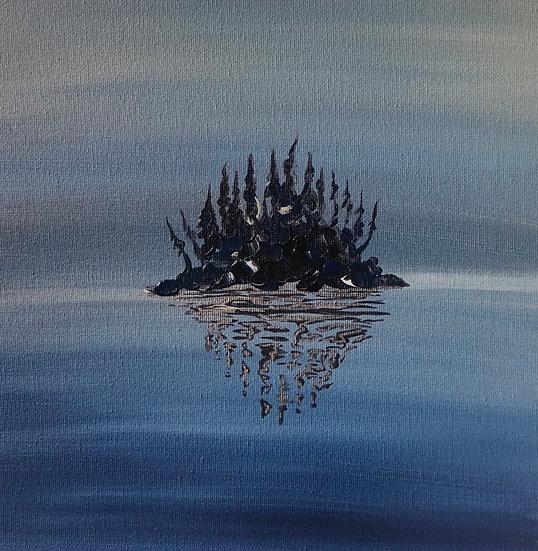 "Reflections - 12x12"" (Print)"