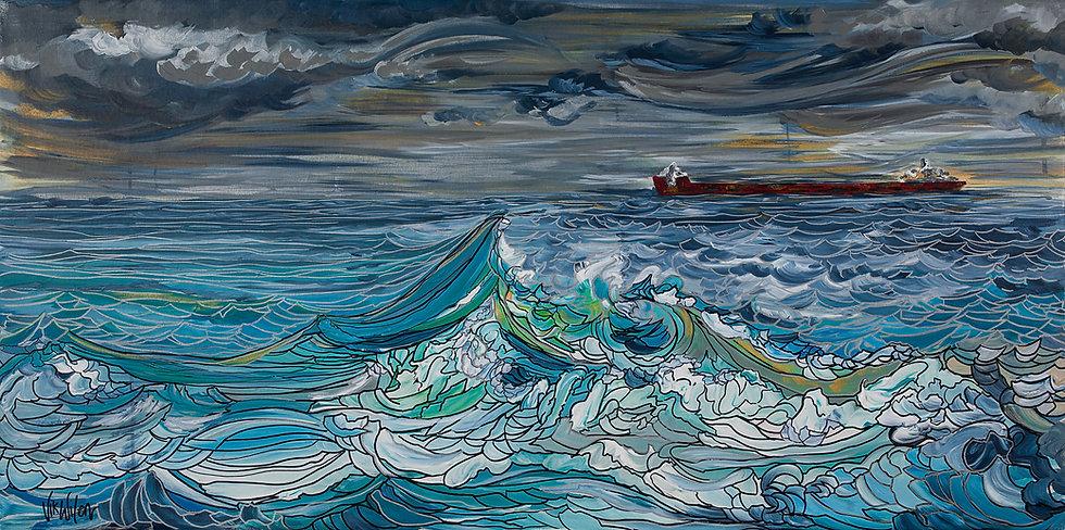 "Storm (Print) 24x12"""