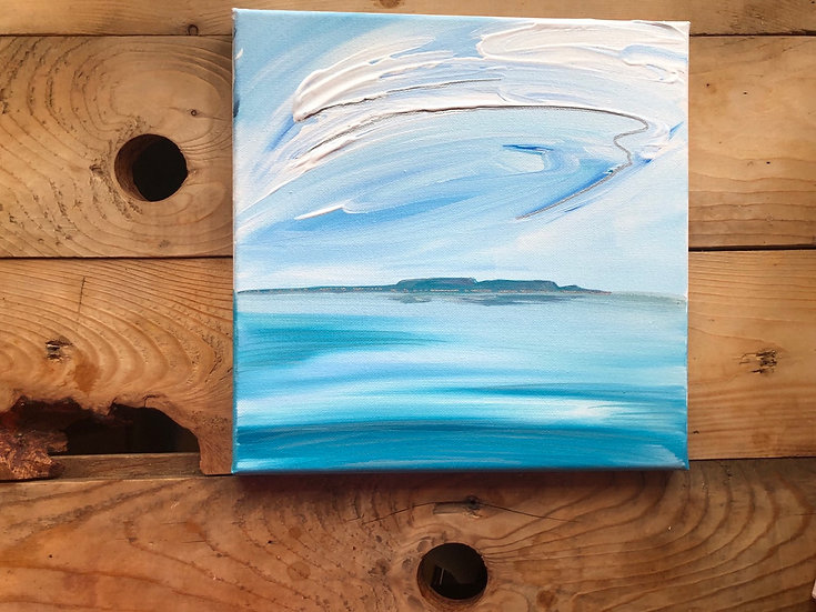 """Calm waters 10x10"""""""