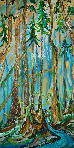 Into the forest_24x48