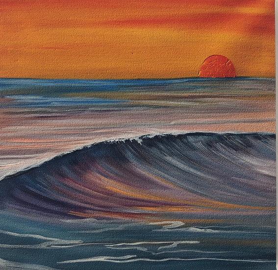 "Morning storm - 12x12"" (Print)"