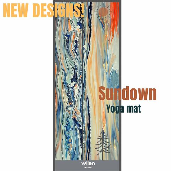 Sundown- Yoga Mat