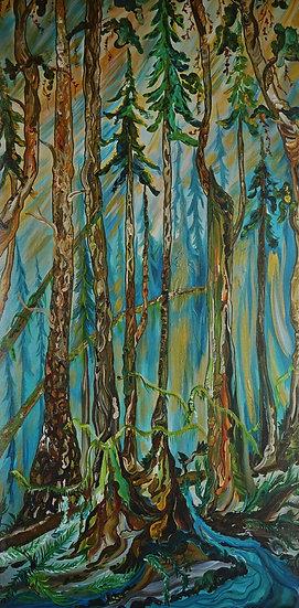 "The Trees 12x24"" (Print)"
