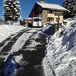 Chalet Soleniou en hiver
