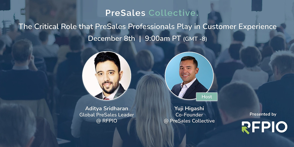 The Critical Role that PreSales Professionals Play in Customer Experience