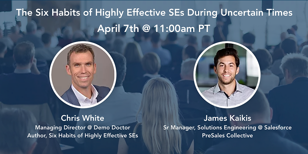 The Six Habits of Highly Effective SEs During Uncertain Times
