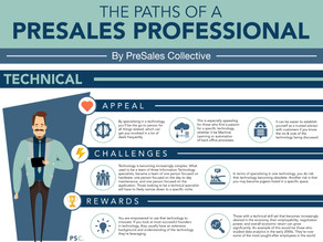 The Paths of a PreSales Professional (updated!)