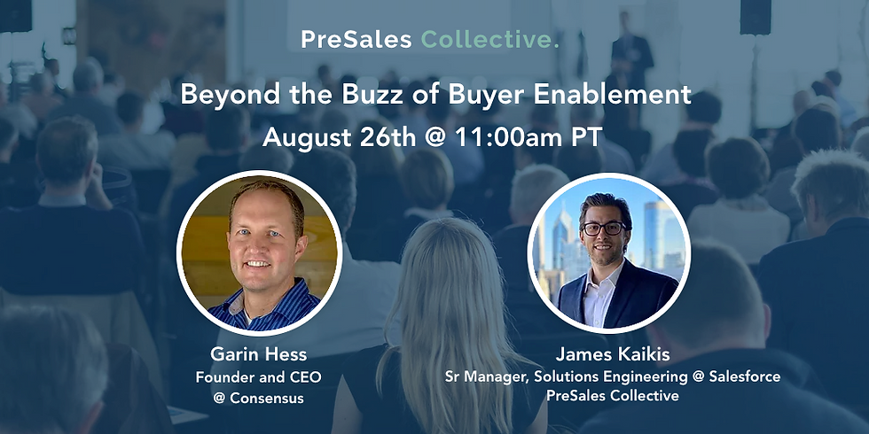 PSC Webinar: Beyond the Buzz of Buyer Enablement