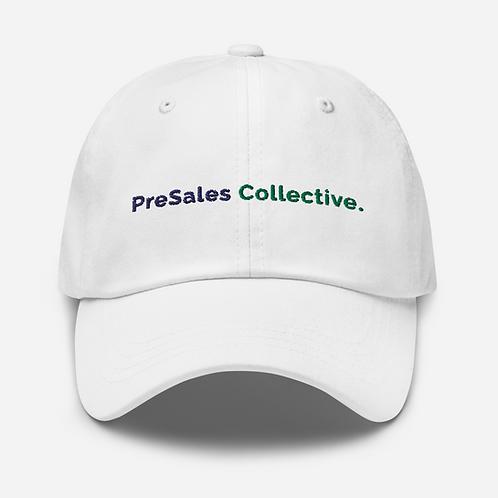 White Adjustable Hat