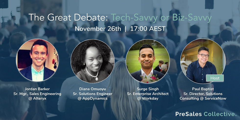 The Great Debate: Tech-Savvy or Biz-Savvy